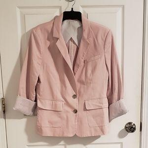 Blush Pink Blazer NWOT (W4)
